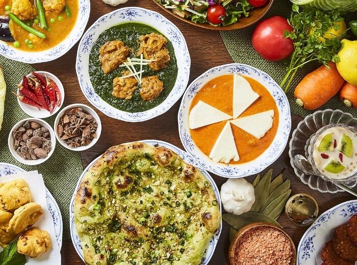 カレー料理の画像